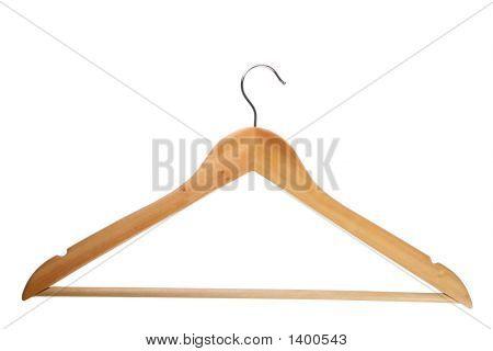 Wooden Coat Hanger