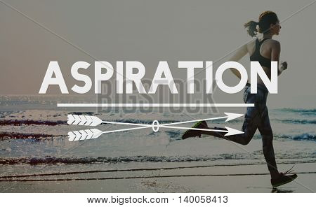 Aspirations Motivation Inspiration Aspire Concept