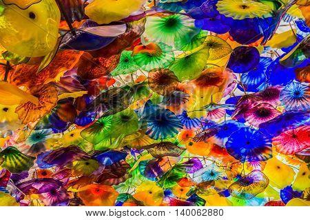 Glass Umbrellas  Bellagio