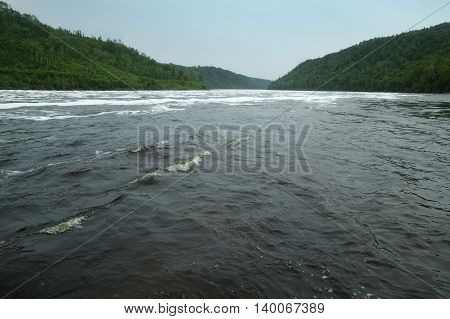 Bureya River upper reaches Russia Amur Oblast