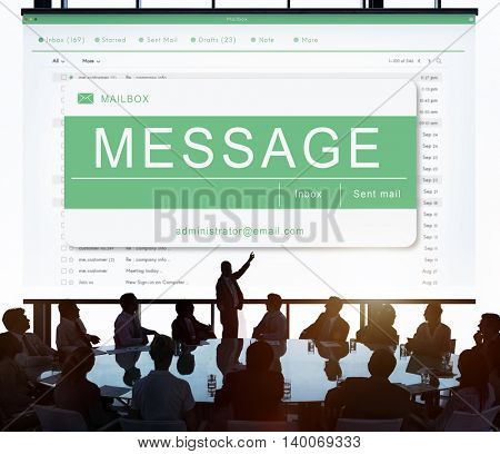 E-mail Online Communication Message Technology Concept