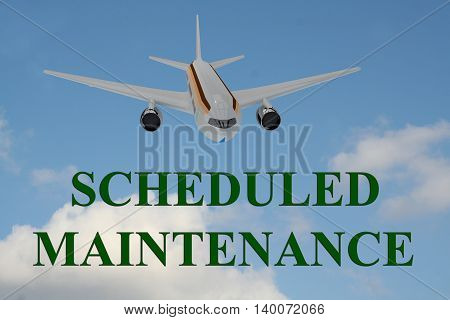 Scheduled Maintenance Concept
