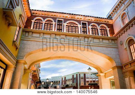 Interior Of Venetian Hotel