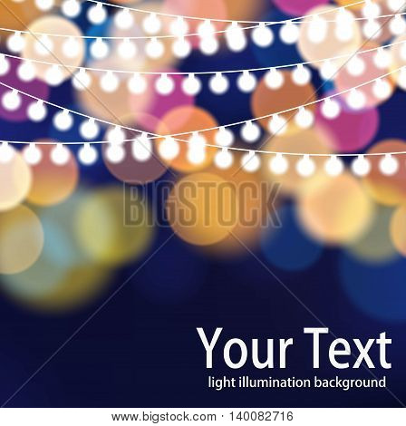 Colorful light abstract background. Colorful bokeh background.