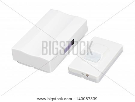 the doorbell isolated on a white background