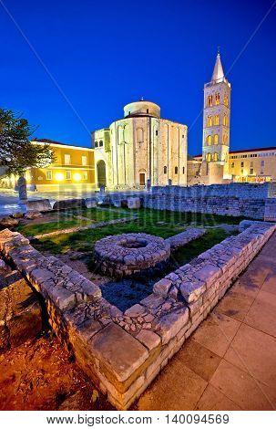 Old Zadar church and artefacts Dalmatia Croatia