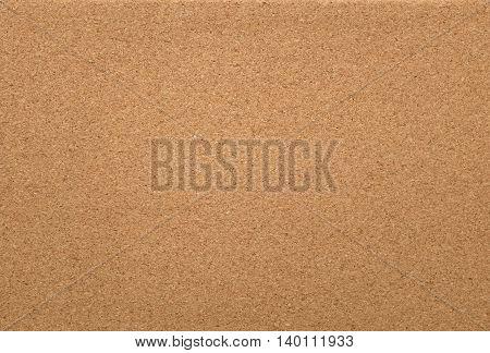 Empty Cork Memo Board Background