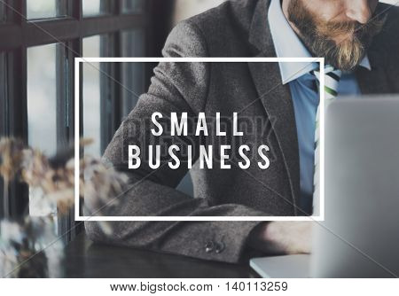 Small Business Company Local Niche Market Concept