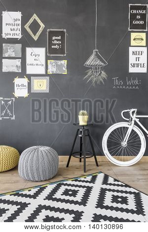 Creative Motivation Wall Idea