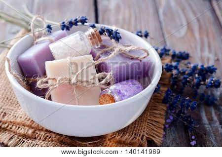 Pieces Of Soap In A Bowl
