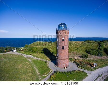 Lighthouse at Kap Arkona, Island of Ruegen, Germany