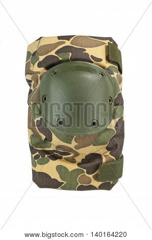 Protective knee pad with camouflage pattern hard shell knee cap