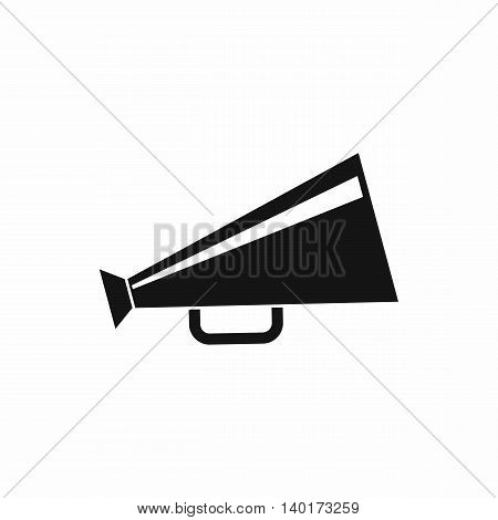 Mouthpiece icon in simple style isolated on white background. Sound symbol