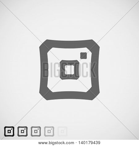 Social Media Icon instagram icon instagram Vector Icon instagram like image instagram sign insta icon instant photo icon instant photo vector instagram abstract instant camera abstract. Vector Illustration