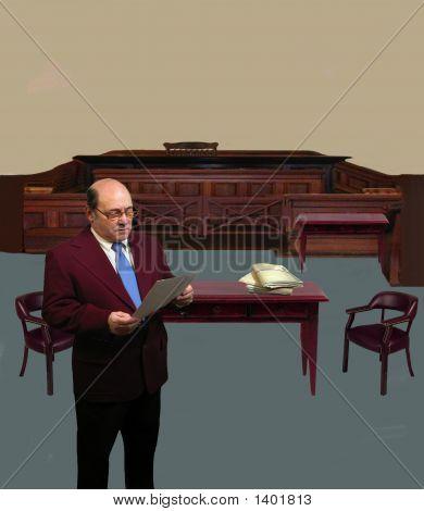 Attorney In Court
