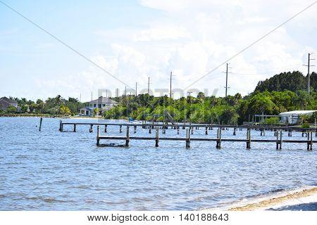Long Boat Docks on the Blue River