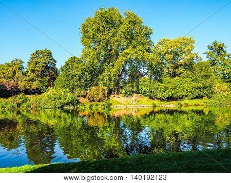 River Avon In Stratford Upon Avon Hdr
