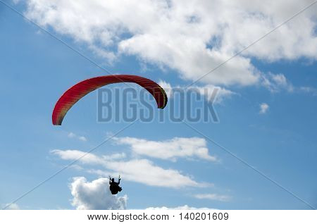 Paragliding Near Tiger Mountain State Forest