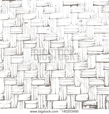 Abstract creative background of wickerwork pattern with filtered color. Bamboo weave texture for design.