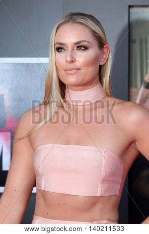 LOS ANGELES - JUL 26:  Lindsey Vonn at the