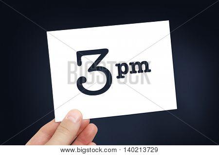 3 pm concept