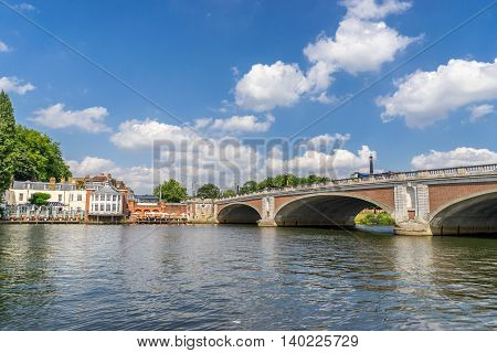 The borough of Kingston up on Thames in south west London