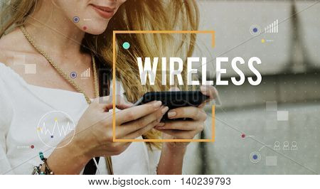 Communication Connection Digital Technology Networking Concept