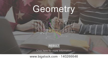 Geometry Education Schoolmate Studying concept