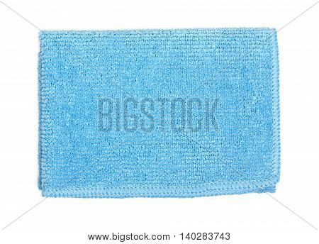Office Universal Microfibre Cleaning Cloth Isolated On A White