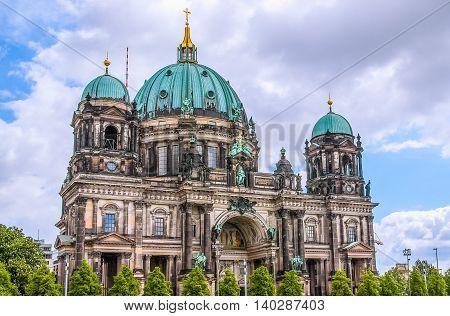 Berliner Dom In Berlin Hdr