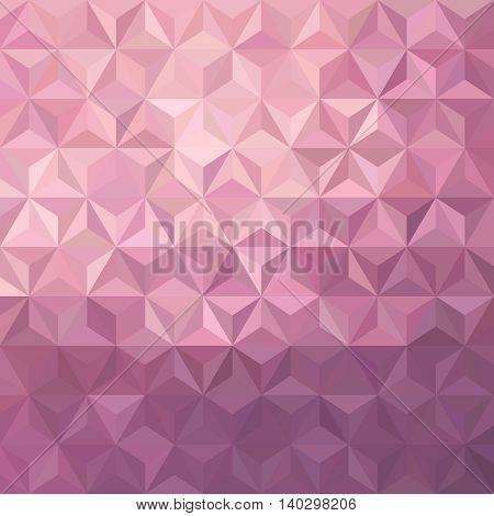 Pink Low Poly Illustration Background