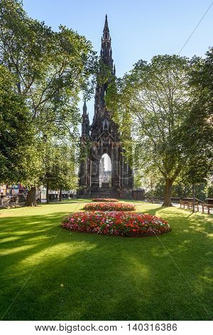 Princes Street Gardens is a public park in the centre of Edinburgh Scotland in the shadow of Edinburgh Castle.