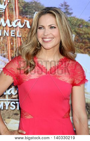 LOS ANGELES - JUL 27:  Pascale Hutton at the Hallmark Summer 2016 TCA Press Tour Event at the Private Estate on July 27, 2016 in Beverly Hills, CA