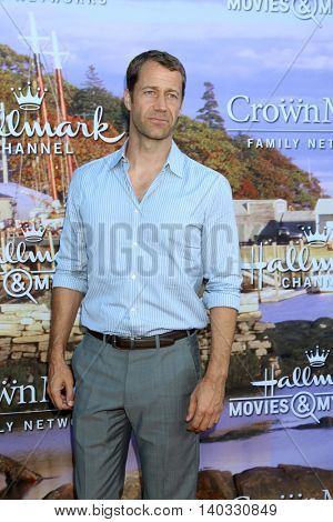 LOS ANGELES - JUL 27:  Colin Ferguson at the Hallmark Summer 2016 TCA Press Tour Event at the Private Estate on July 27, 2016 in Beverly Hills, CA