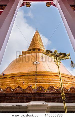 The beauty of culture,Wat Phra Pathom Chedi, Nakhon Pathom,ThaiLand