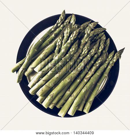 Asparagus Vintage Desaturated