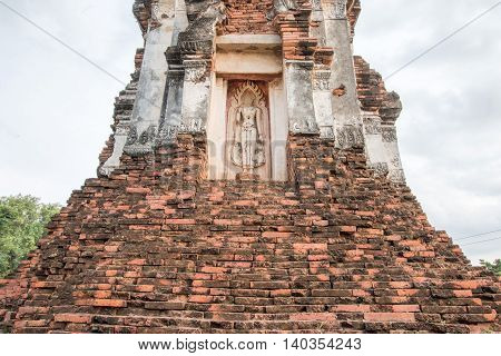 Phra Prang Sam Yot, The City Of Monkey In Lopburi ,thailand.