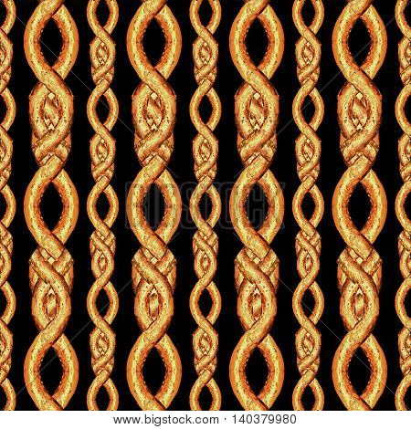 Vertical Lace Stripes Seamless Pattern