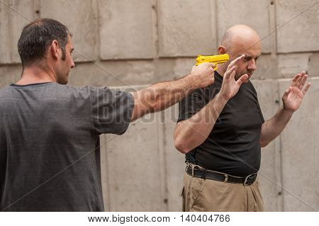 Self Defense Techniques Against A Gun