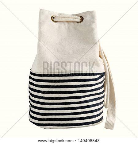 Fabric Bag With Drawstring