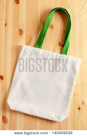 White Fabric Tote Bag