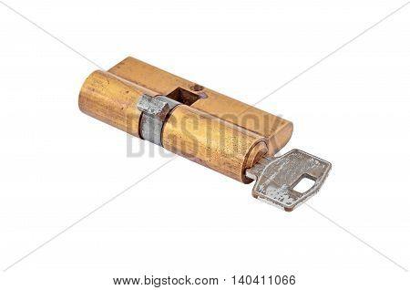Door Lock Cylinder Core With Key