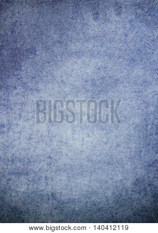 Dirty Gradient Blue Grunge Effect Textured Background
