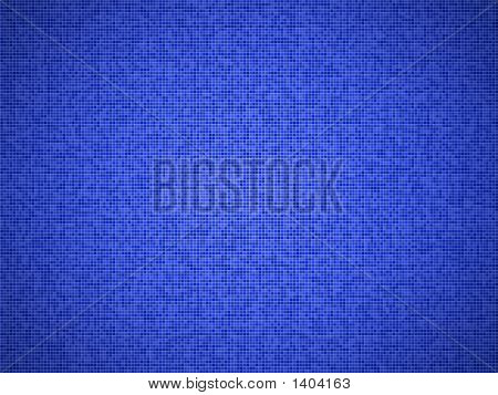 Blue Background With Vignette Effect