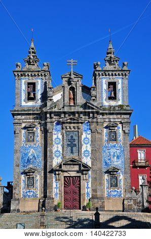 Igreja de Santo Ildefonso in Porto Portugal