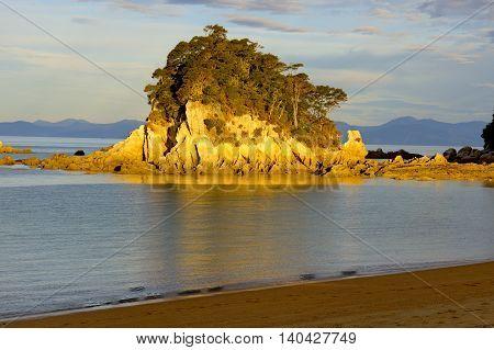 Little Kaiteriteri Island South Island New Zealand