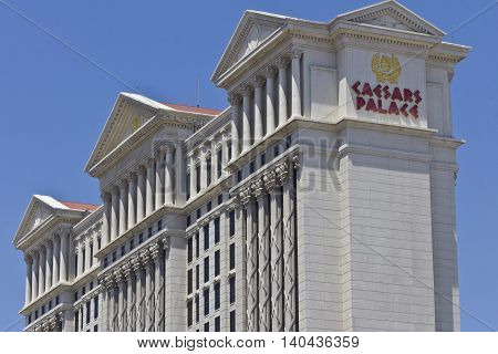 Las Vegas - Circa July 2016: Caesars Palace is a Luxury Hotel and Casino Owned by Caesars Entertainment and One of the Most Iconic Fixtures on the Strip III