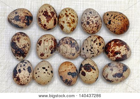 Traditional Japanese Cuisine Delicacy Organic Quail Eggs