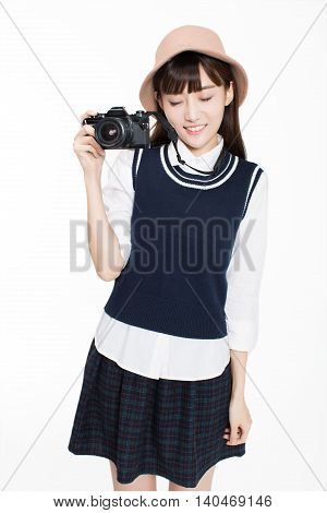 Girl Is A Photography Enthusiast