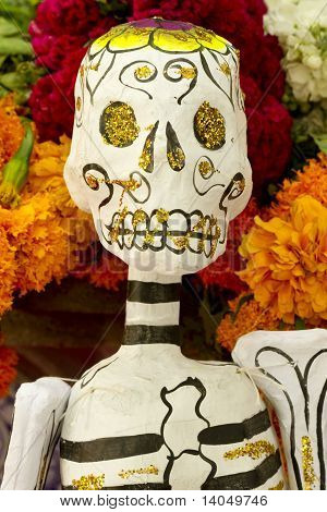 Mexican Day Of Dead Skeleton